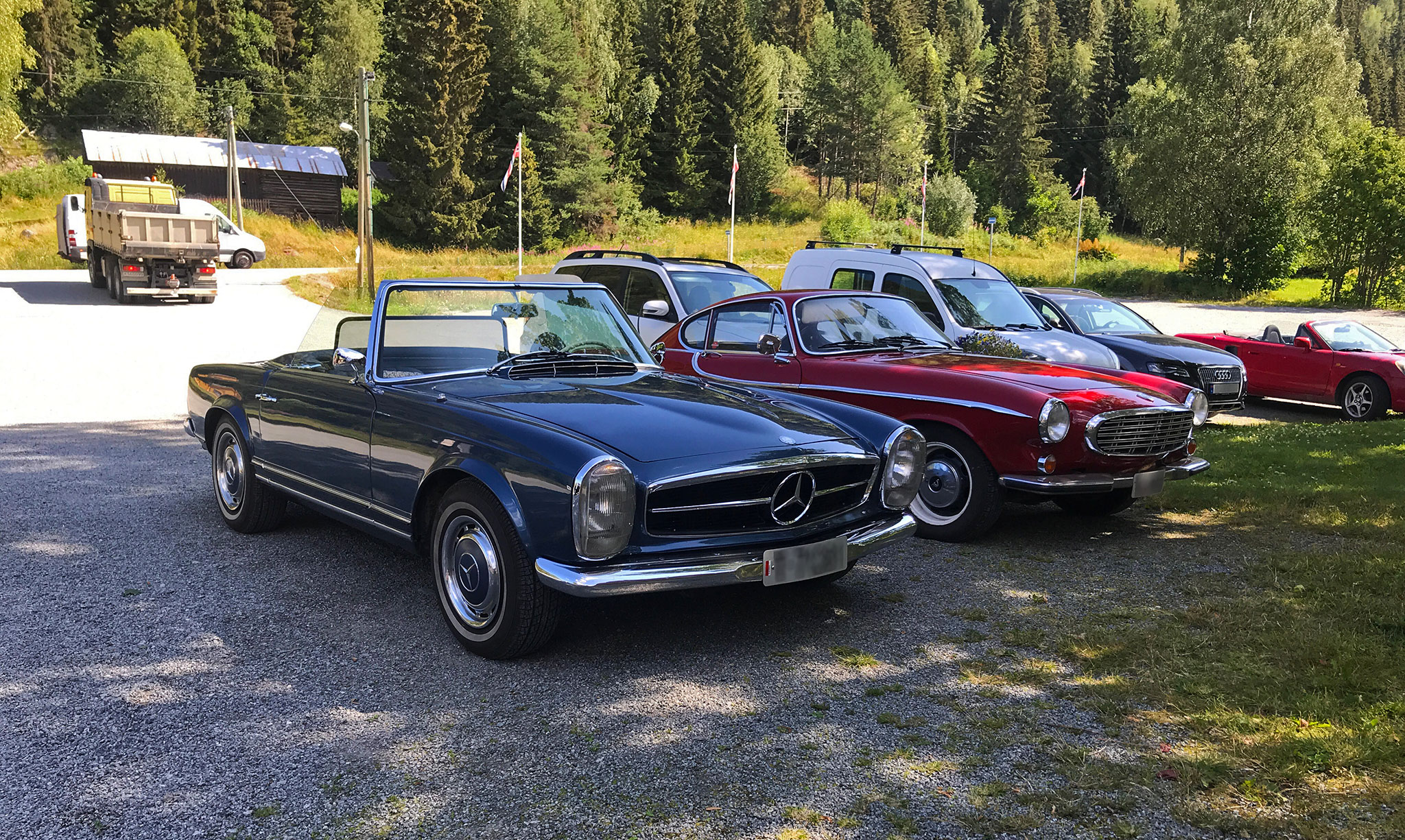 Fine old automobiles