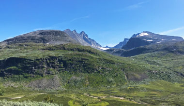 Jotunheimen National Park, my destination for the day