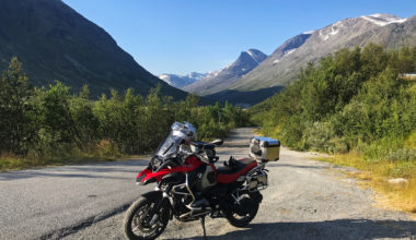 Leirdalsvegen - at the entry to Jotunheimen, July 2019