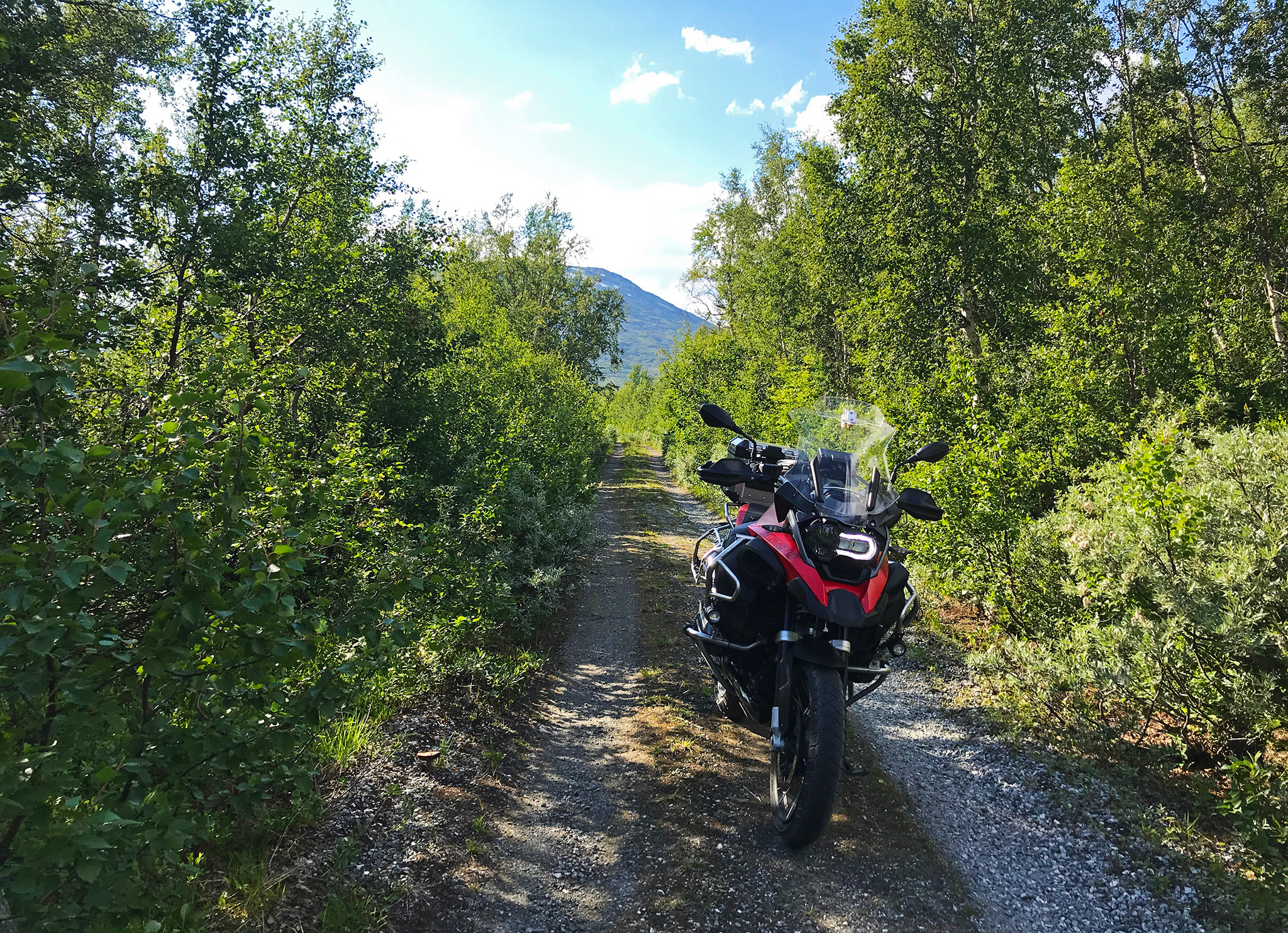 The old overgrown road to Geiranger, an interesting experience