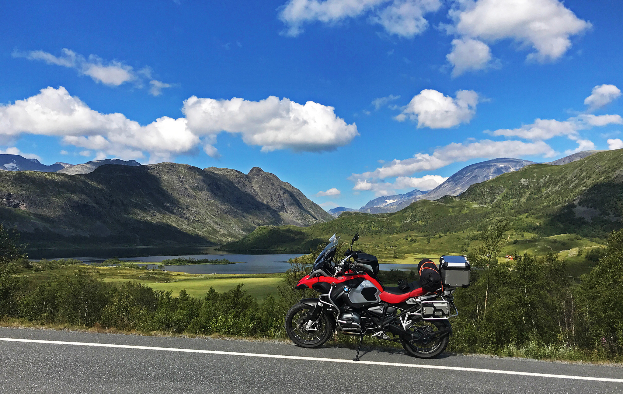 Pretty view of Jotunheimen National Park