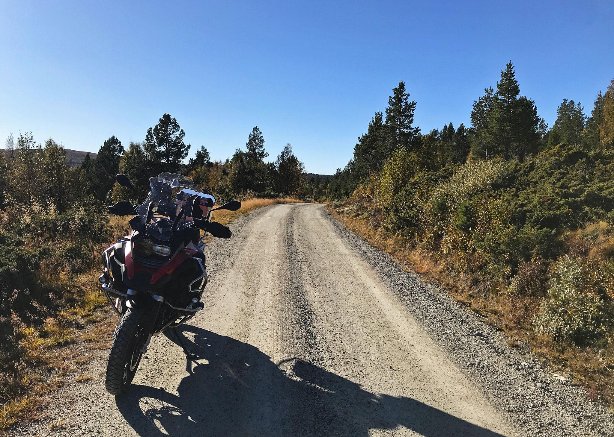 A perfect gravel road