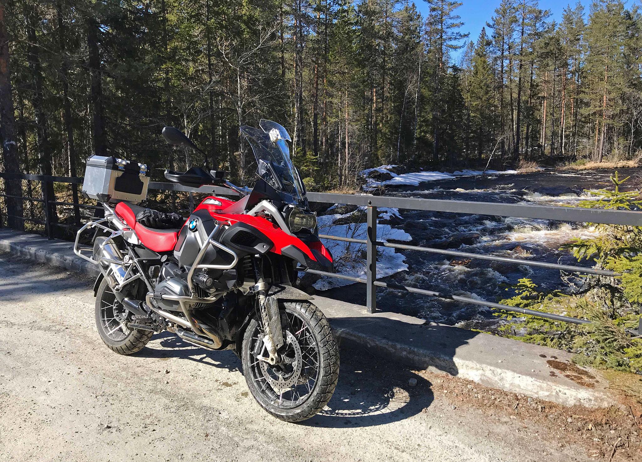Mid April ride