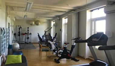 Gym at Godthaab rehab