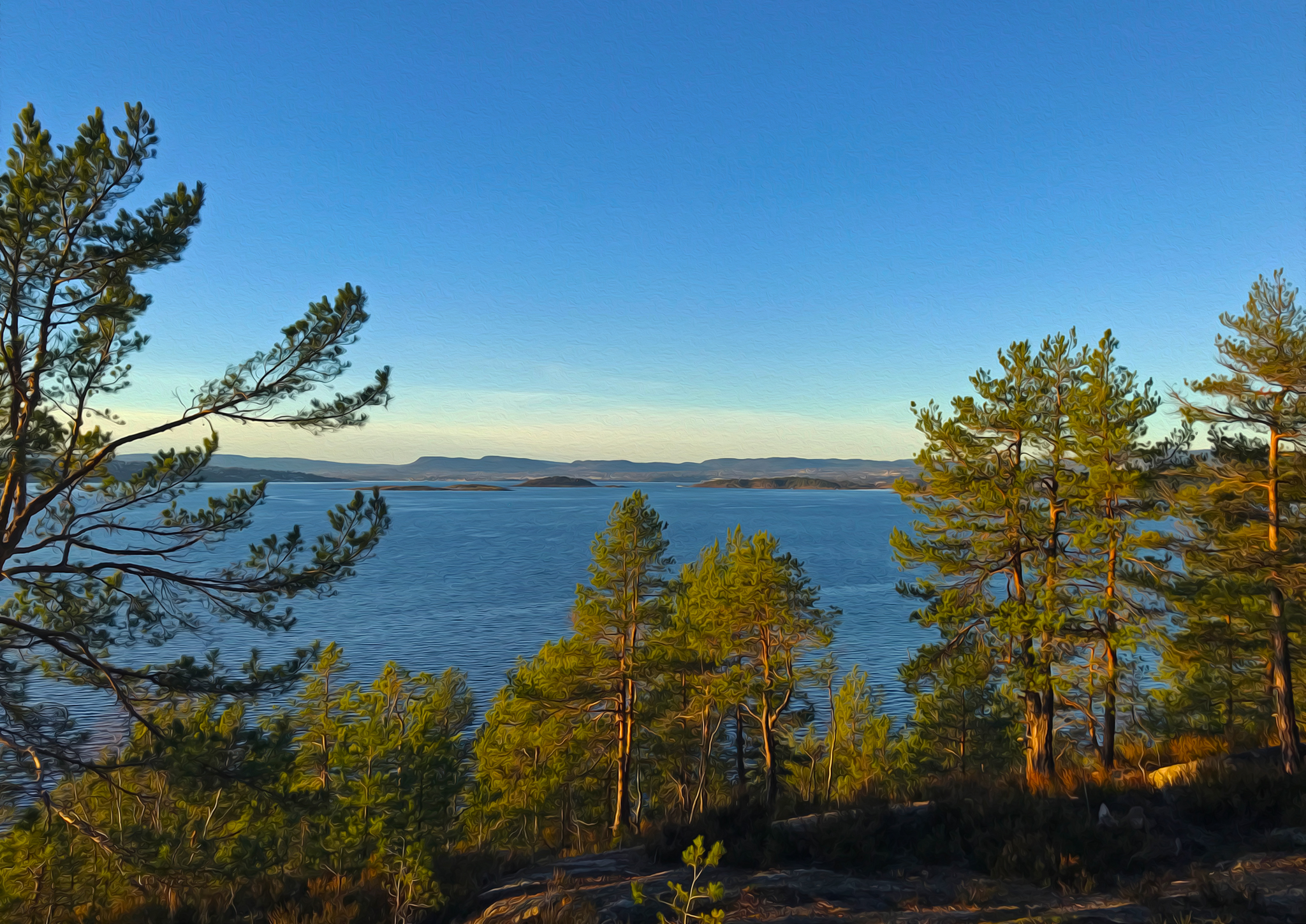 Briefly: a glimpse of Inner Oslo fjord