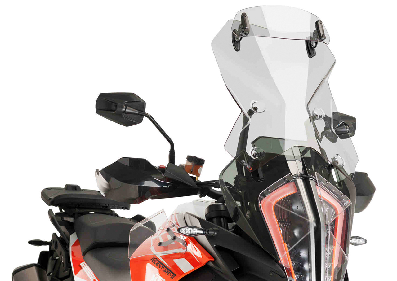 Puig Touring wind screen with visor