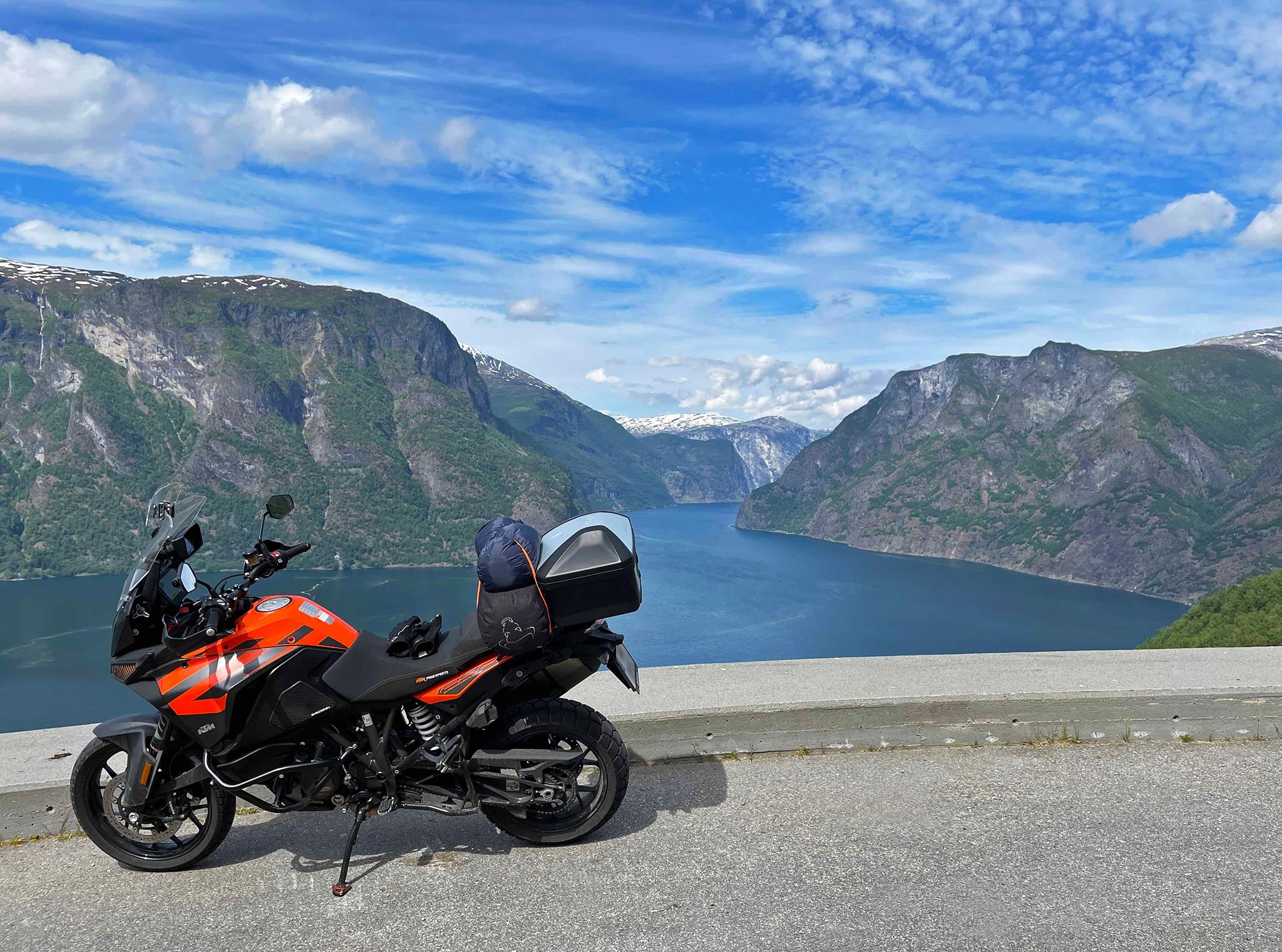1000 kilometers: Aurlandsfjorden June 8th 2021