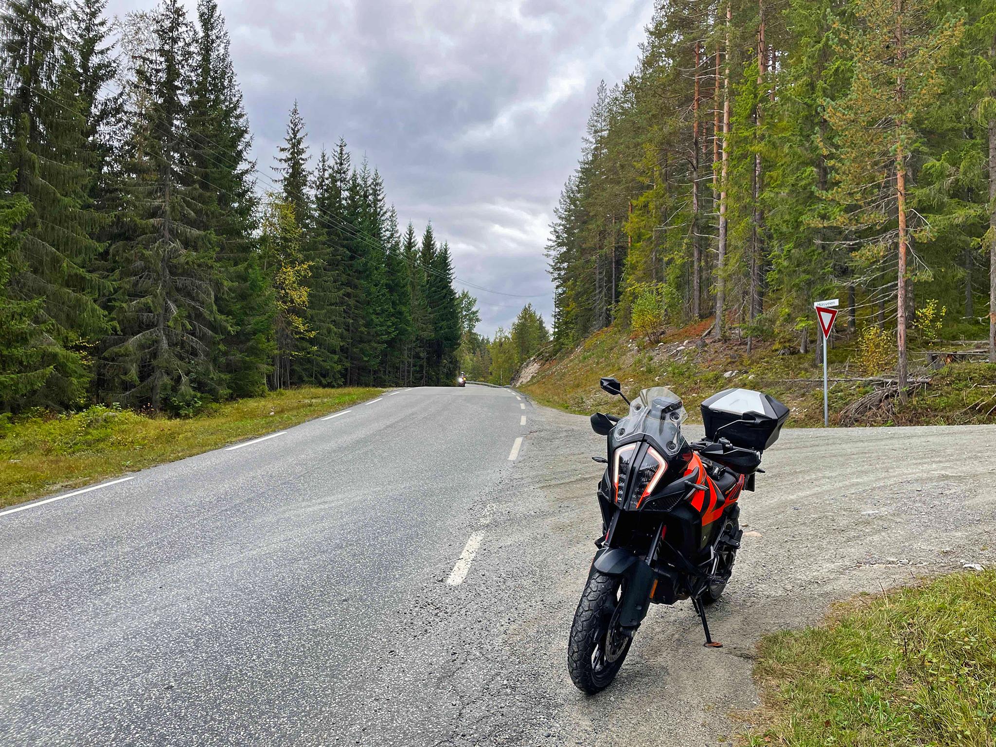 Along smallways in Norway