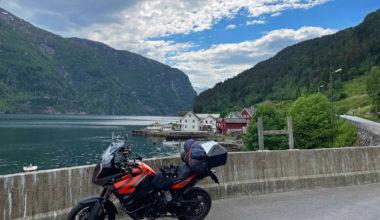 Westwards, Folkedal and Granvinfjord