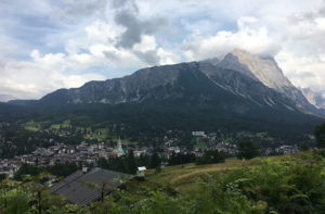 Cortina d'Ampezzo from another angle