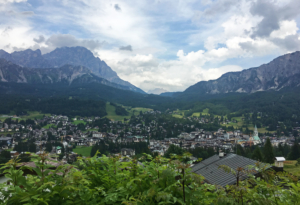 Cortina d'Ampezzo from another angle,