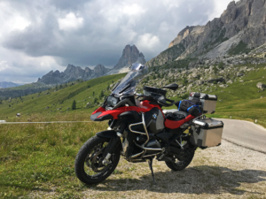 My BMW GS Adventure in The Dolomites