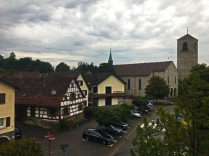 Hotel view in Neuweier