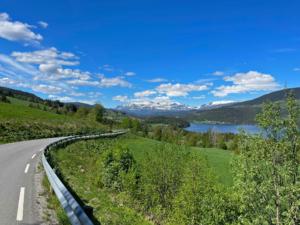 Valdres, west side of Strondafjorden