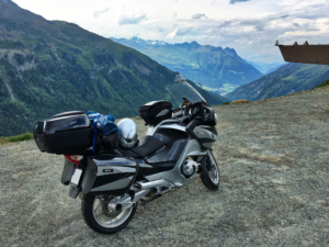 BMW R1200RT at Timmelsjoch