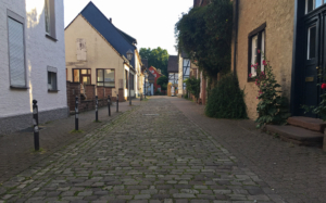 Höxter cobblestone backroads