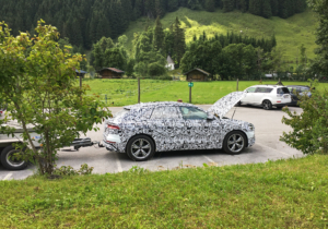 New Audi spotted in Austria
