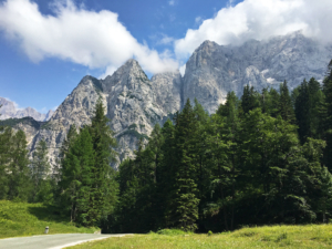 Triglav National Park in Slovenia