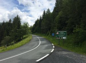 The Nockalm Road in Austria