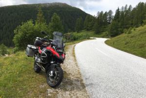 Nockalm Road in Austria