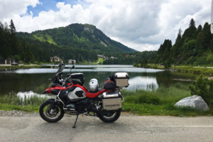 Beemer at Turracher Lake in Austria