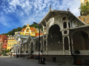 Old town Karlovy Vary