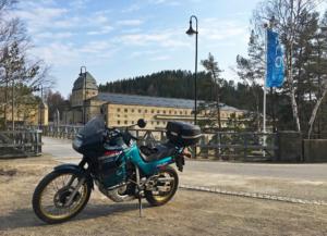 Transalp at Solbergfoss