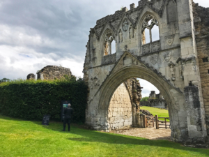 The entrance to the Kirkham Priory