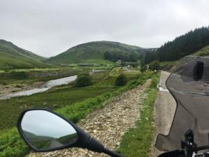 Up to Claerwan Dam