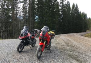 On gravel in Sweden