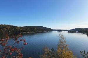 Oslo fjord, mid-October