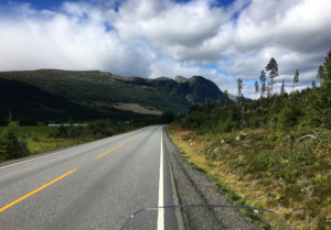 Riding into Hemsedal