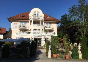 Parkhotel in Bad Faulenbach (July 2016)