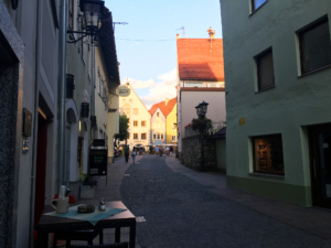 Street view from Fussen (July 2016)
